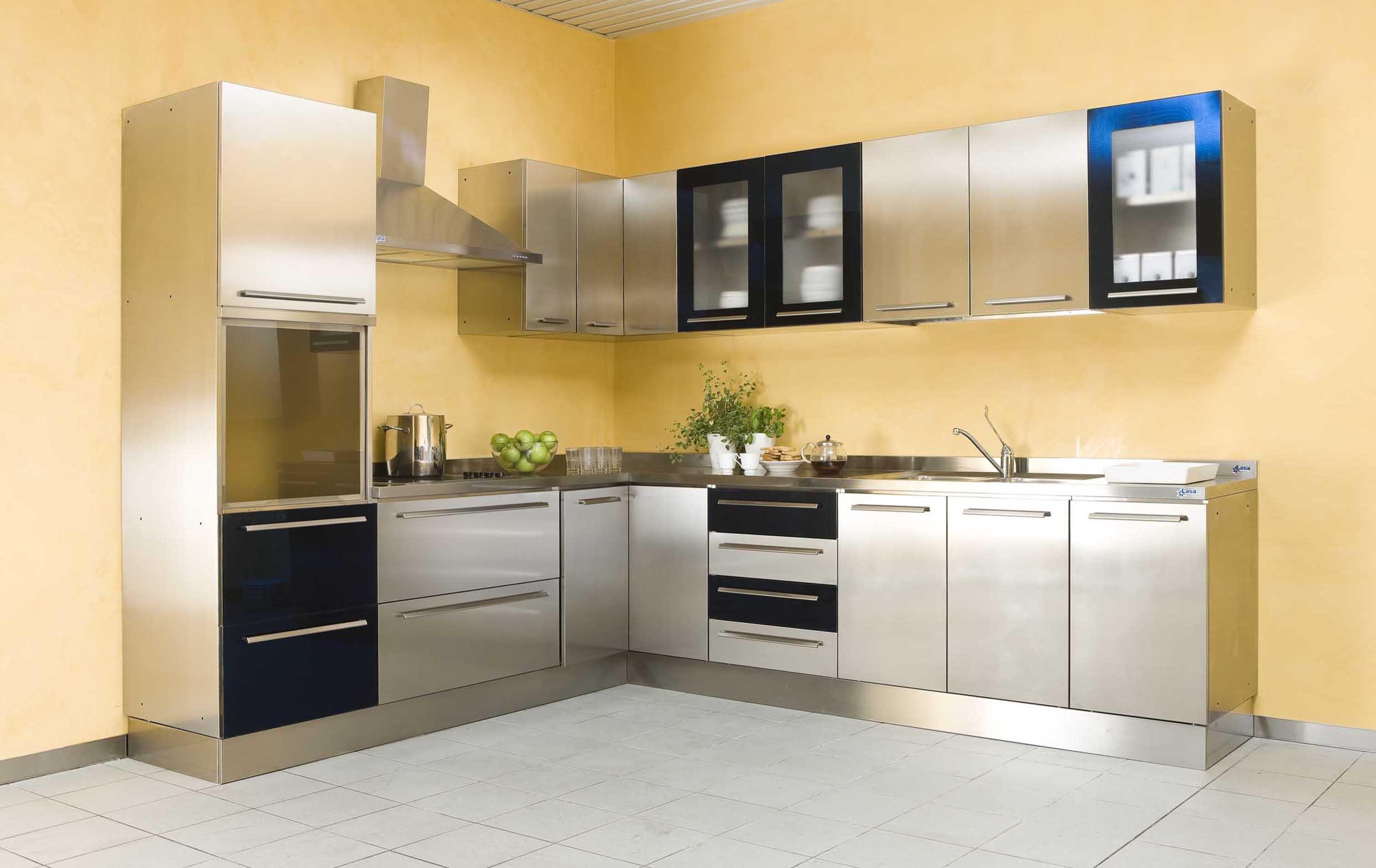Cucine in acciaio | Ingross Forniture